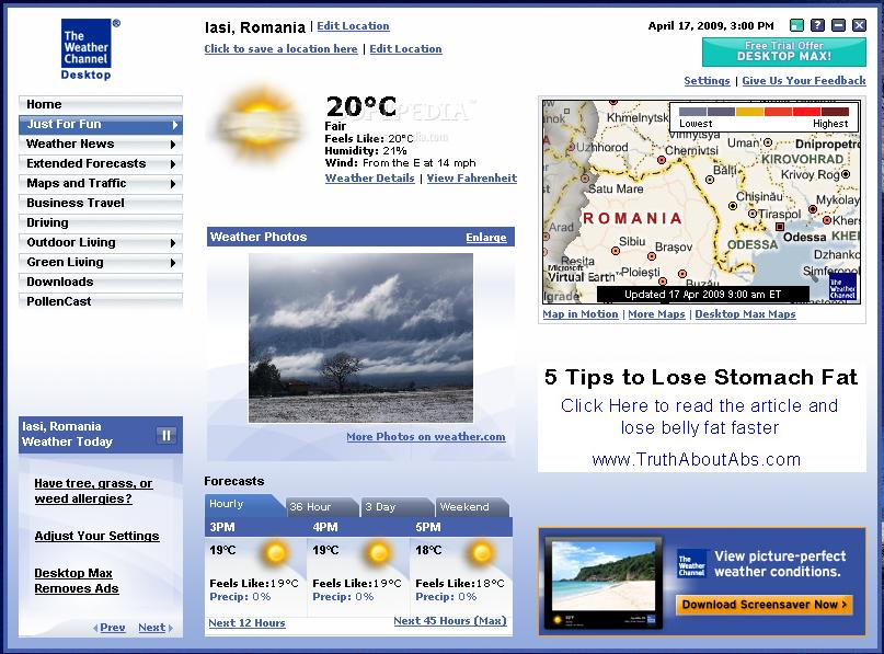 weather channel desktop 6