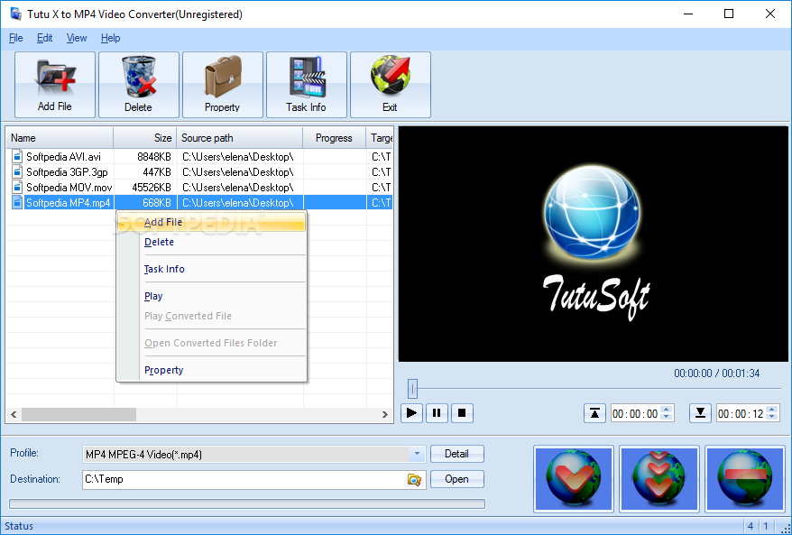 Tootoo MP4 Video Converter