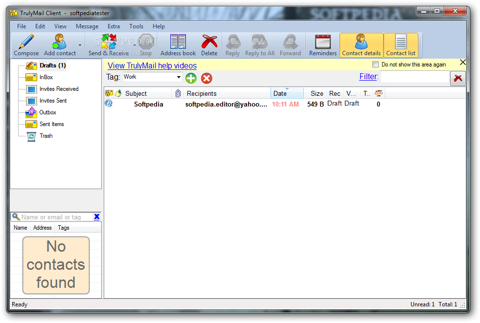 برنامج الإلكتروني البريد المزعج الأبد