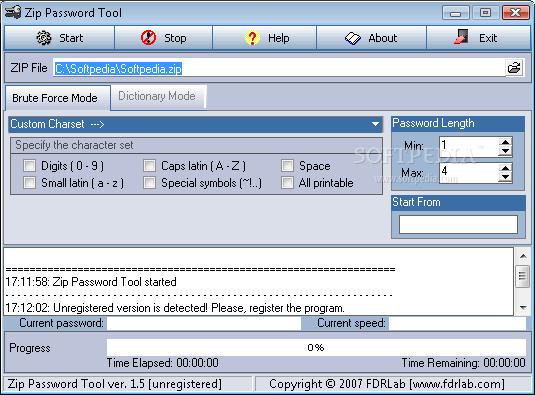 Token, brute force internet password cracker, download password reset disk