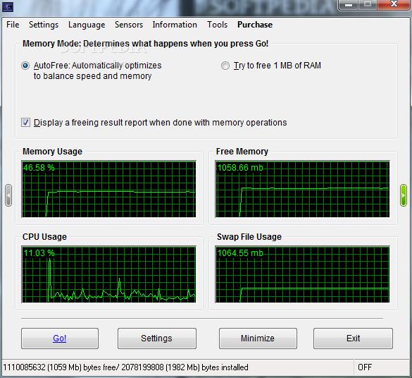 برنامج رائع لحفظ راماتك من التلف Software.TweakRAM