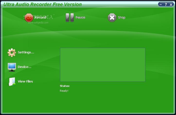 Ultra Audio Recorder 7.4.4.268