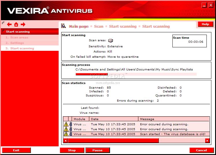 Vexira Antivirus