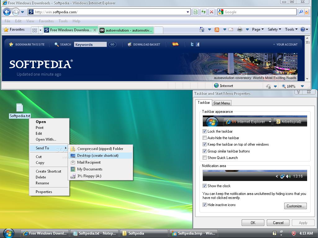 Vista ����� �������� VistaMizer 3.2.0.0