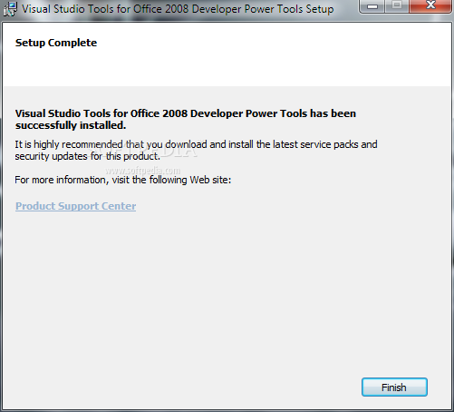 برنامج Microsoft Visual Studio Tools Power Tools 1.0.0.0