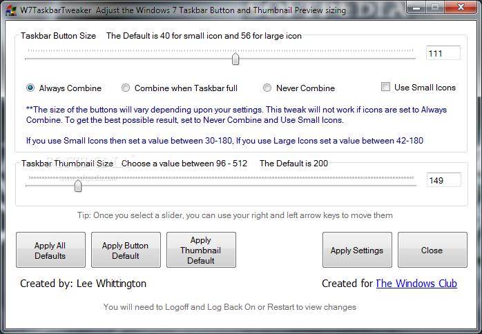 ������ Taskbar Tweaker ������ ������ W7-Taskbar-Tweaker_1.png