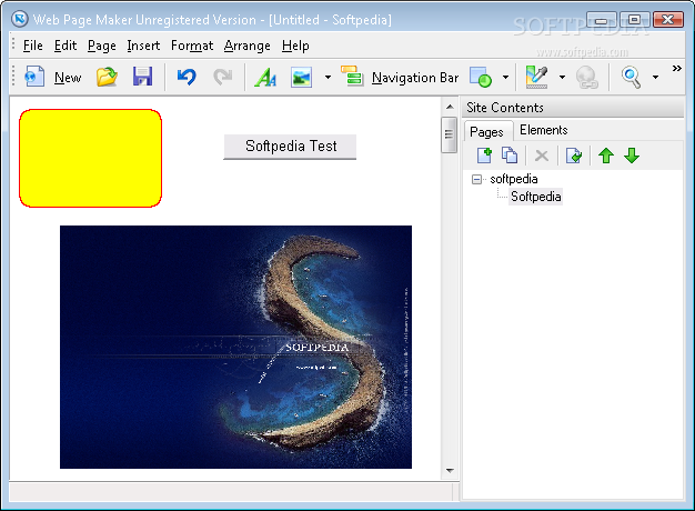 Web Page Maker 3.21 ��� ����� �� �������� ������ �� ����� ����� �������