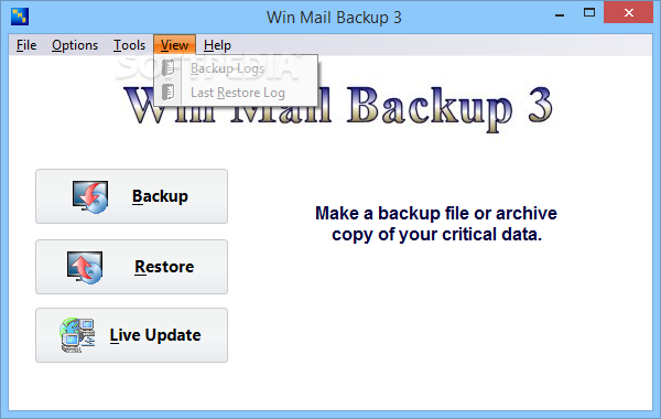 Win Mail Backup screenshot 5