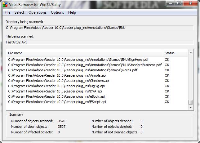 Вирус Win32 Sality Aa