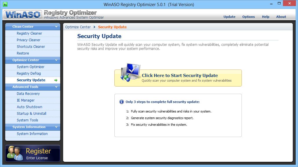 WinASO Registry Optimizer v4.6.1 (x86) RU PC