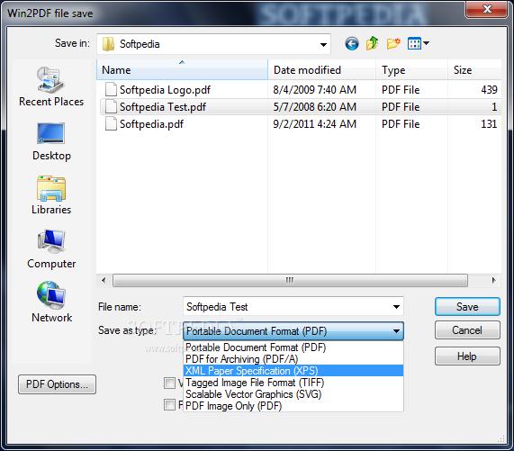 WinPDF 1 Win2PDF   Chuyển đổi mọi định dạng sang PDF