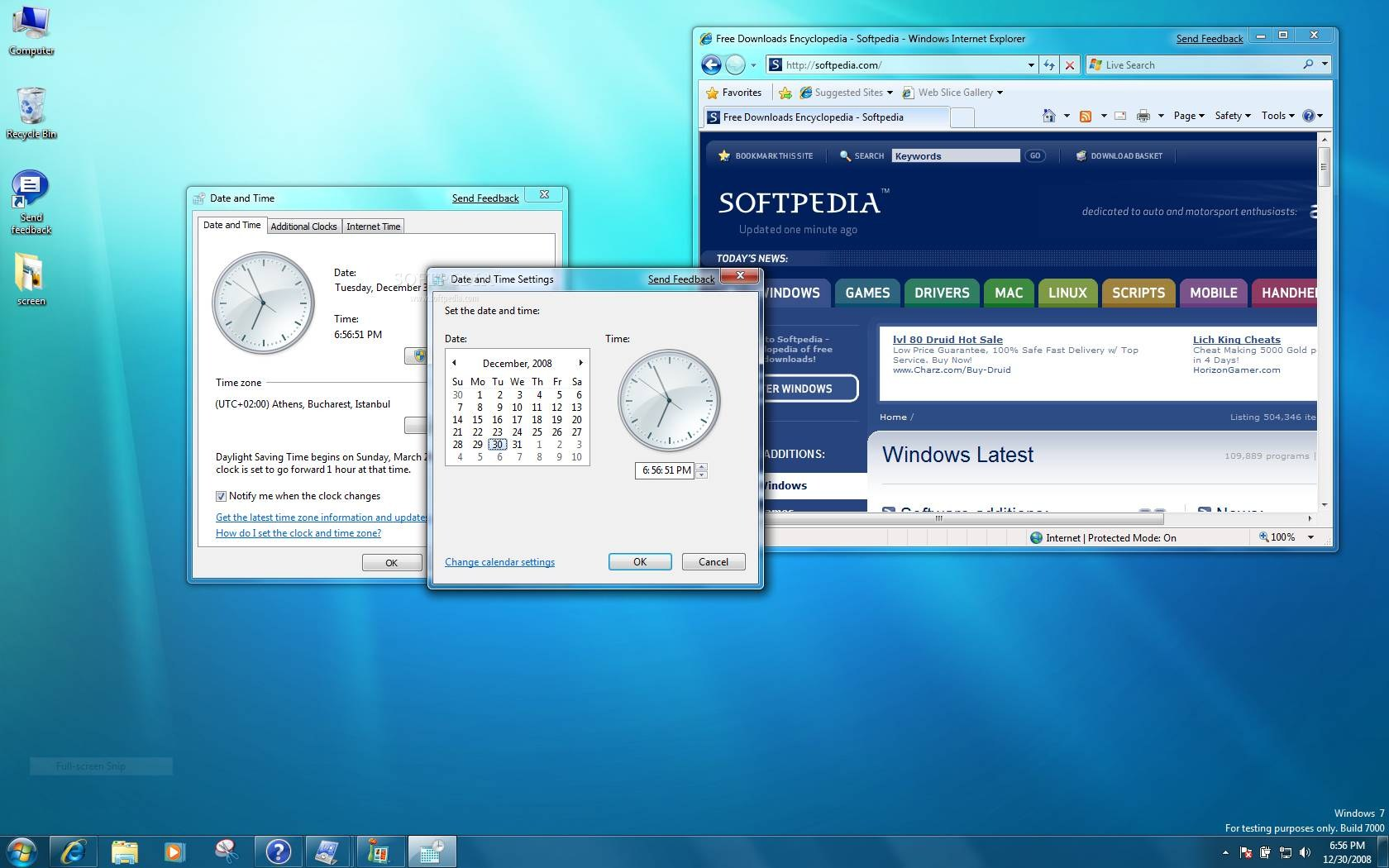 Windows 7 screenshot 3