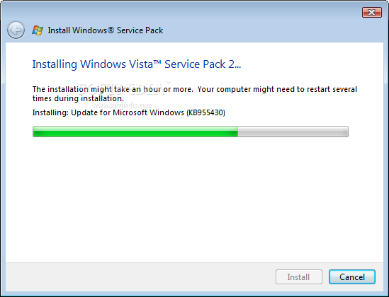Windows Vista Service Pack 2 2 Microsoft releases Windows Vista Service Pack 2