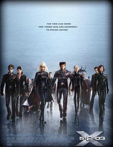 X Men 2 ScreenSaver 1 - Hugh Jackman Film Posterleri