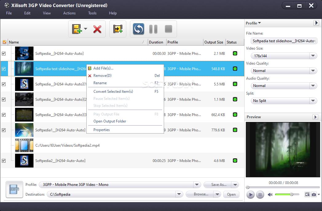 Xilisoft 3GP Video Converter 2.1.59.0206b