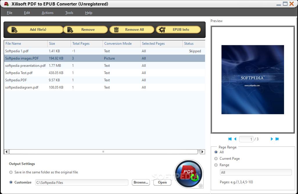 ������ Xilisoft EPUB Converter 1.0.1 Xilisoft-PDF-to-EPUB-Converter_1.png