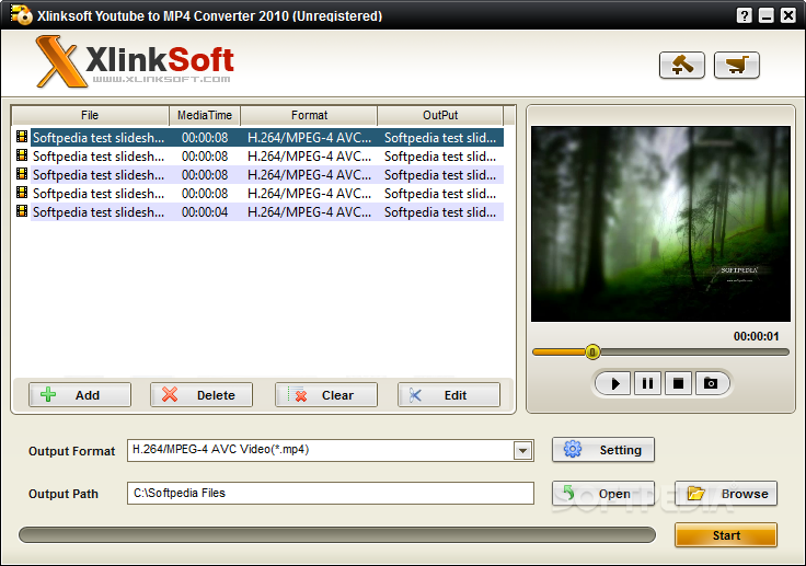 Xlinksoft Youtube to MP4 Converter 1 برنامج تنزيل ملفات الفيديو Xlinksoft Youtube to MP4 Converter