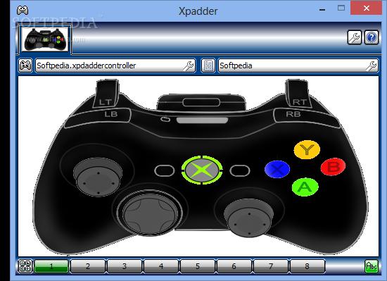 xbox controller xpadder