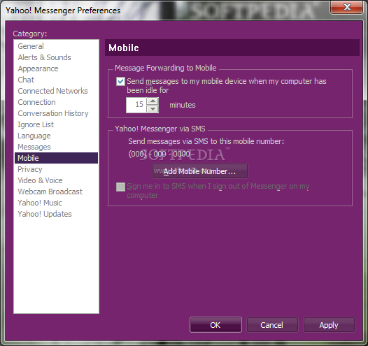 Yahoo! Messenger screenshot 19