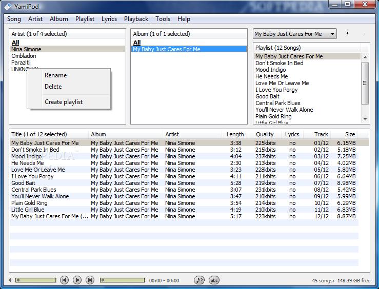 YamiPod 0.94 Beta 1