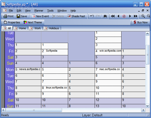Year Planner 2.4مواعيد محاضرات لقاءات