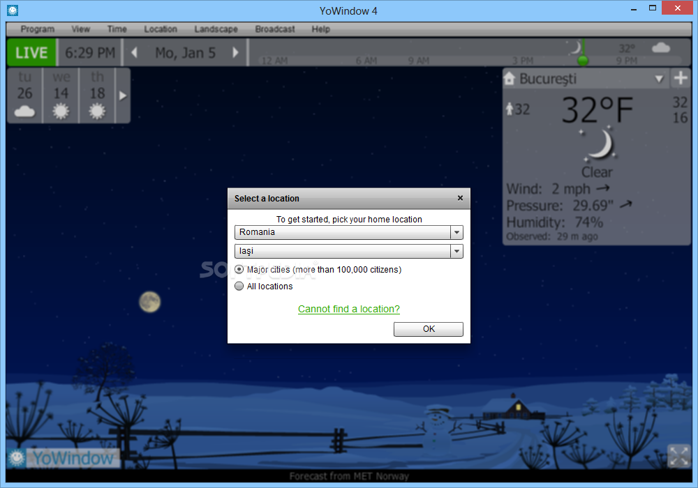 YoWindow 2.0 Build 362