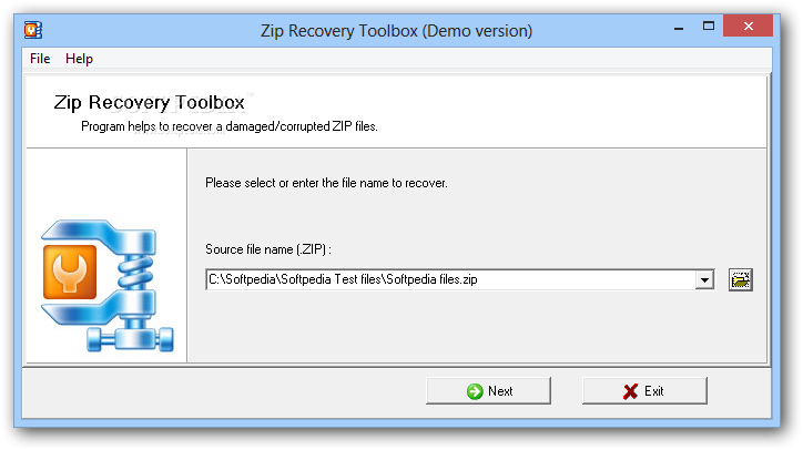 Zip Recovery Toolbox