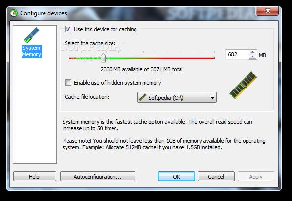 Tăng tốc máy :Dùng 4 USB làm RAM ảo EBoostr_4