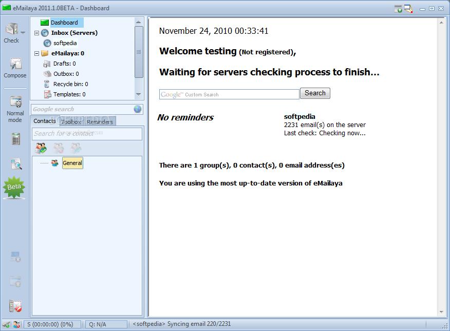 eMailaya 4.1.0