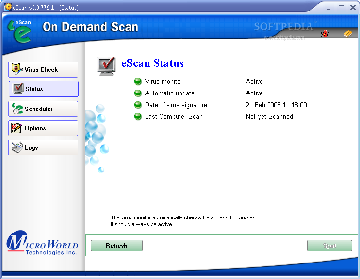 eScan Internet Security Suite 1 eScan Internet Security Suite 9.0.824.205
