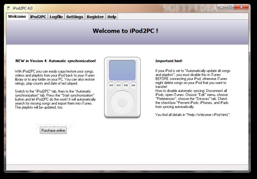 iPod2PC
