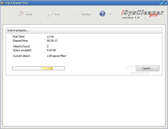 http://www.softpedia.com/screenshots/iSysCleaner-Pro_1.png
