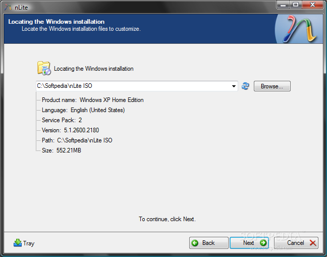 nLite 1.4 RC لازالة مكونات الويندوز التي لا تحتاجها (لتسريع الويندوز)