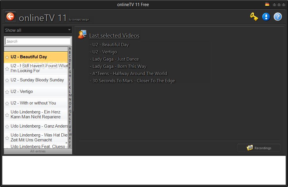 ������ onlineTV 5.3.0.2 ������ �������