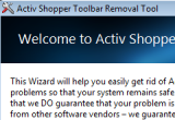 ActivShopper Toolbar Removal Tool 1.0